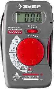 Купить <b>Мультиметр ЗУБР МХ</b>-<b>600</b> в интернет-магазине ...