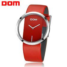 <b>Women Watch DOM</b> Brand <b>luxury</b> Fashion Casual Unique Lady ...