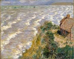 monet to matisse a century of french moderns mcnay art museum image claude monet french 1840 1926 rising tide at pourville mareacutee montante agravepourville 1882 oil on canvas 26 times 32 in 66 times 81 3cm