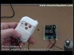 <b>DC12V RF</b> Reversing Motor <b>Remote Controller</b> Operation - YouTube