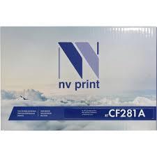<b>Картридж NV</b>-<b>Print</b> CF281A Черный (Black) — купить, цена и ...