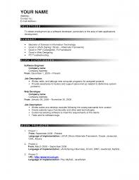 how to write a good resume for freshers