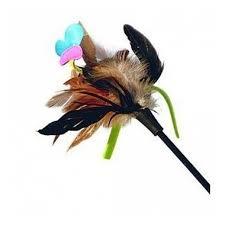 Дразнилка для кошек GiGwi <b>Cat</b> Toys на стеке с бабочкой и ...