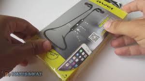 Bluetooth <b>Наушники Awei A960 BL black</b> обзор - YouTube
