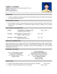 resume templates standard format samples for  79 glamorous resume format templates