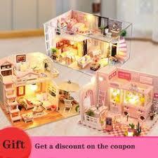 <b>CUTEBEE Dollhouse</b> Miniature with <b>Furniture</b>, DIY <b>Dollhouse</b> Kit ...