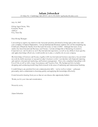 examples of cover letters for internships template examples of cover letters for internships