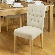 mobel oak flare back biscuit upholstered dining chair baumhaus mobel oak upholstered dining chair