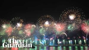 Out with a bang! <b>New Year's</b> Eve fireworks around the world ...