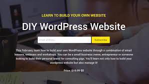 diy wordpress website course designsingh