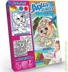"""Купить набор водная <b>раскраска</b> """"<b>aqua</b> painter"""", <b>danko toys</b> оптом в ..."""