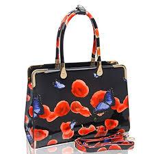 Craze London <b>Ladies Womens Fashion</b> Designer <b>Patent</b> Butterfly ...