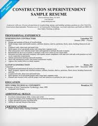 resume building superintendent   example good resume templateresume building superintendent