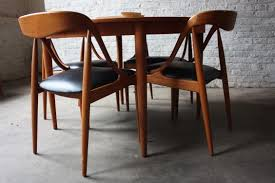 Teak Dining Room Chairs Teak Dining Table Danish Modern And Table And Chairs On Pinterest