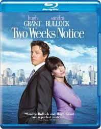two weeks notice blu ray