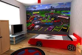 cool sports rooms for boys kids bedroom decoration with red sport bed complete with tv boy kids beds bedroom