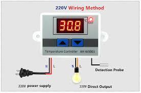 220V W3001 XH W3001 <b>Digital Thermostat</b> for incubator ...