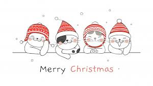 <b>Christmas Cats</b> Images | Free Vectors, Stock Photos & PSD