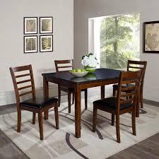 fresh rectangle black granite high charming high dining