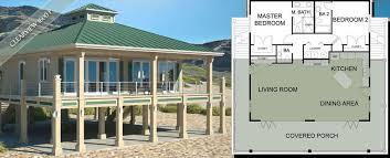 New beach house plans on stiltsStilt house home design ideas  pictures  remodel and decor