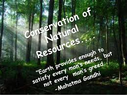 conservation of natural resourcesppt conservation of natural resources as the human population is growing continuously
