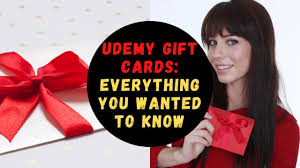 Udemy Gift Cards: Everything You Wanted To Know - YouTube