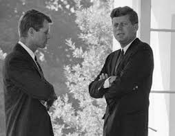 President John F. Kennedy And His Brother Robert Kennedy Were ...