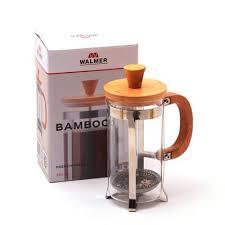 <b>Кофейник френч</b>-<b>пресс</b> Walmer <b>Bamboo</b>, 0.35 л - География Вкуса