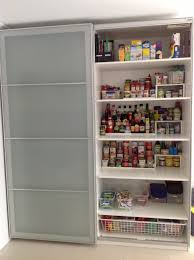 Kitchen Pantries Ikea Pax Wardrobe Used As A Kitchen Pantry But Id Install