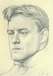 Hilaire Belloc by Eric Gill - bellocGill