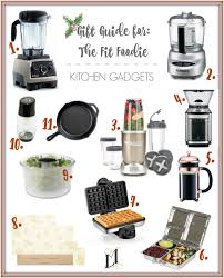 Kitchen Gadget Gift Gift Guide For The Fit Foodie Kitchen Gadgets Living Minnaly
