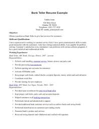 resume job description for a bank teller service resume resume job description for a bank teller bank teller job description job interviews bank teller resume