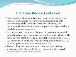 Literature Review     Research paper  High School Retention Rate     iQ Academy