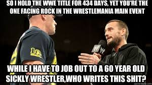 CM Punk and John Cena | CM Punk | Pinterest | Cm Punk, Punk and ... via Relatably.com
