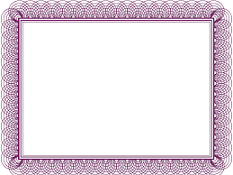20 printable certificate borders blank certificates purple certificate borders templates pdf