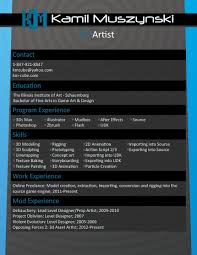 3d artist resume doc mittnastaliv tk 3d artist resume 24 04 2017