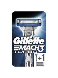 Бритва <b>MACH3</b> Turbo, с 2 сменными кассетами <b>GILLETTE</b> ...
