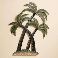 tree scene metal wall art: wall art designs palm tree wall art palm tree bathroom palm trees metal wall sculpture