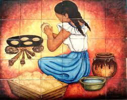 kitchen murals