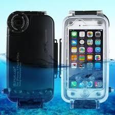 <b>PULUZ 40m</b> / <b>130ft Waterproof</b> Diving <b>Housing Underwater</b> Cover ...