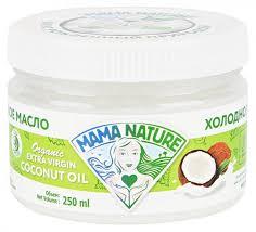 Купить <b>Масло кокосовое</b> Mama <b>Nature</b> БИО, 250 мл в интернет ...