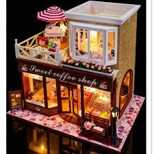 d011 1 d011 2 cheap doll houses with furniture