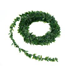 7.5m Artificial Ivy Garland Foliage <b>Green</b> Leaves Simulated Vine For ...
