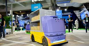 Alibaba made a driverless robot that runs <b>9</b> mph to deliver packages ...