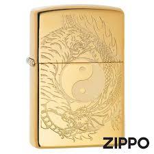 <b>Зажигалка Zippo</b> (Зиппо) Tiger and <b>Dragon Design</b> 49024