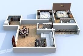 4 floor plans baya park company office design