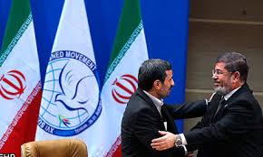 Resultado de imagen de MOHAMED MORSI Y Mahmud Ahmadineyad