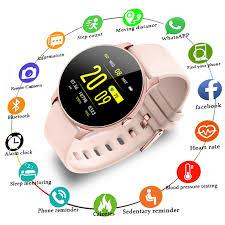 <b>LIGE 2019 New</b> Smart Watch Women Heart Rate Health Monitoring ...