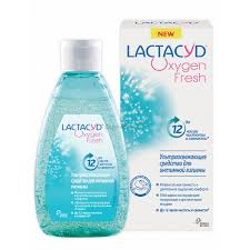 <b>Гель</b> Lactacyd (<b>Лактацид</b>) для интимной гигиены Oxygen <b>Fresh</b> ...