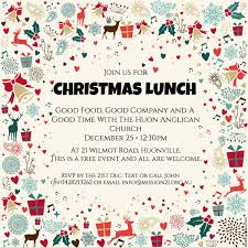 christmas lunch invitation templates customized christmas dinner christmas lunch
